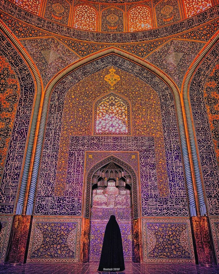 Мечеть в Исфахане, Иран