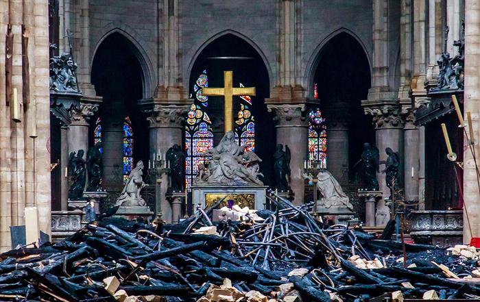 Минкульт опроверг слухи о переводе бюджетных средств на восстановление Нотр-Дама Культура, Пожар, Париж, Notre Dame De Paris