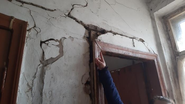 В Курске людей из аварийного общежития выживают лягушки Курск, Видео, Длиннопост, Негатив, Аварийное жилье