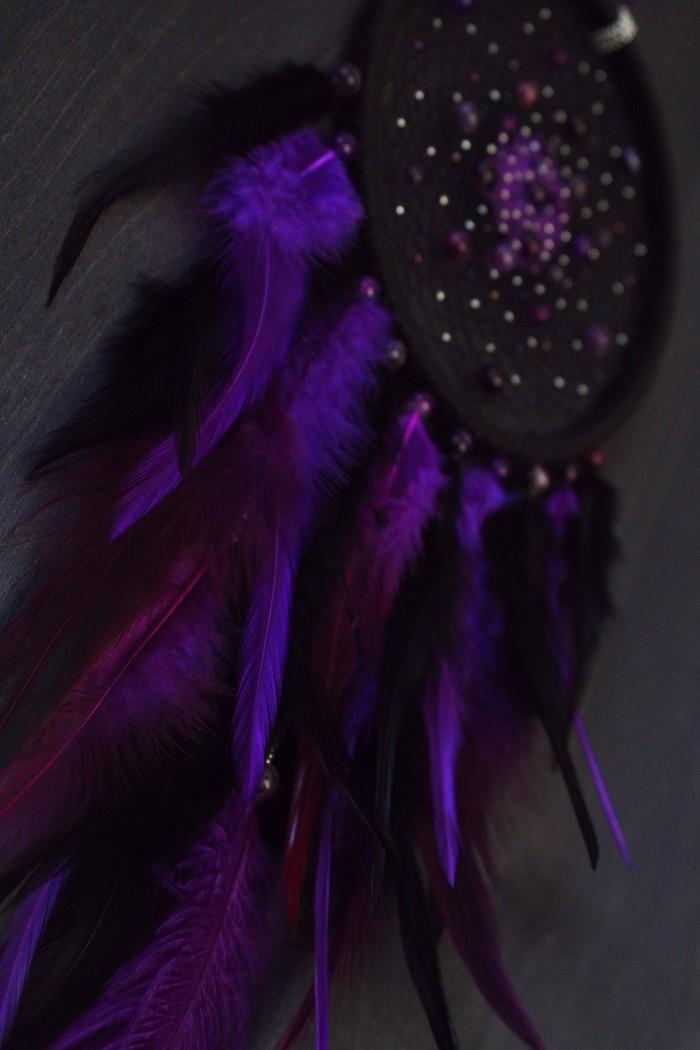 Violet Universe vol 2 Длиннопост, Рукоделие, Рукоделие без процесса, Своими руками, Ловец снов, Ручная работа