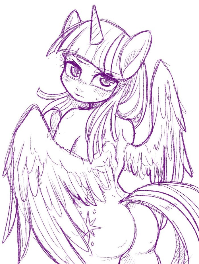 Принцесса Твайлайт требует My Little Pony, Twilight Sparkle, MLP Edge, Bibi, Антро