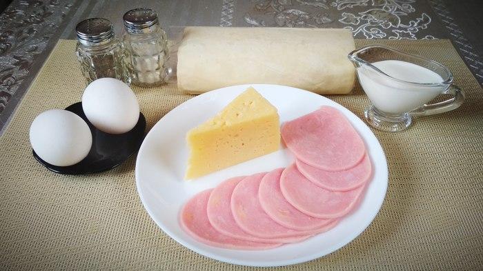 Эмпанадас с ветчиной и сыром – вкусный завтрак! Рецепт, Жуй-Ка!, Готовим дома, Завтрак, Ветчина, Сыр, Длиннопост
