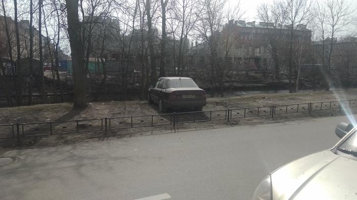 Газонные узники Газон, Санкт-Петербург, Нарушение ПДД, Длиннопост, Неправильная парковка