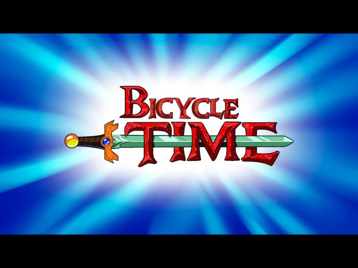 Время покатушек Покатушки, Велосипед, Adventure Time, Photoshop, Длиннопост