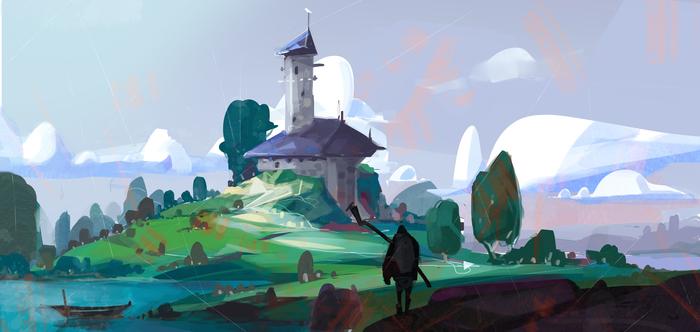 Рисуя погоду. Drawweather арт, Погода, Гифка, Длиннопост