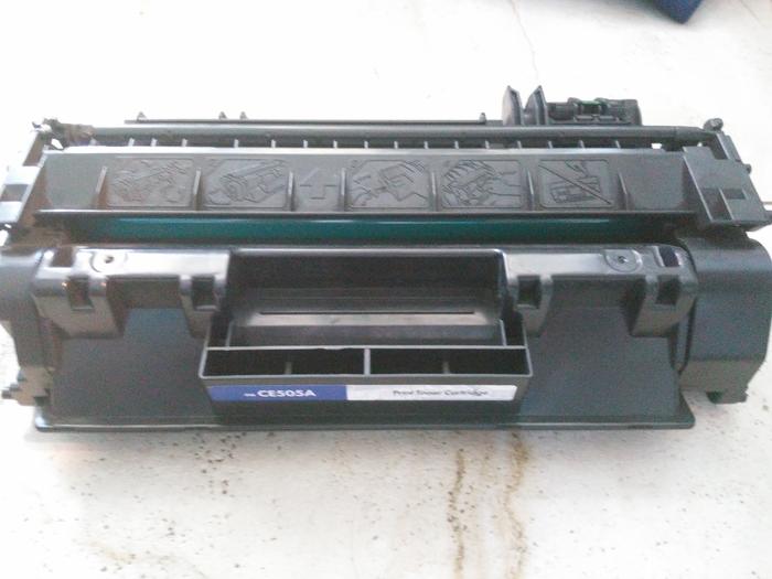 Картридж лазерный ce505a