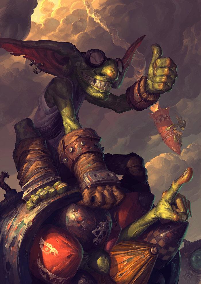 Вкратце о гоблинах Азерота Длиннопост, Расоведение Баюна, World of Warcraft, Гоблин