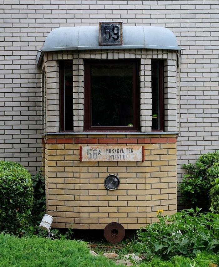Балконводителя трамвая