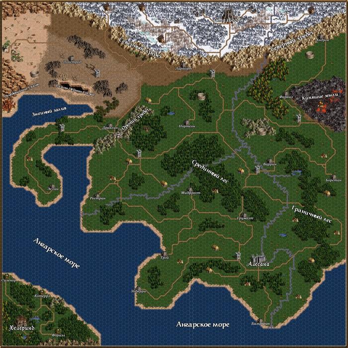 Карта авторского мира, D&D5. Dnd 5, Карта мира, Авторский мир