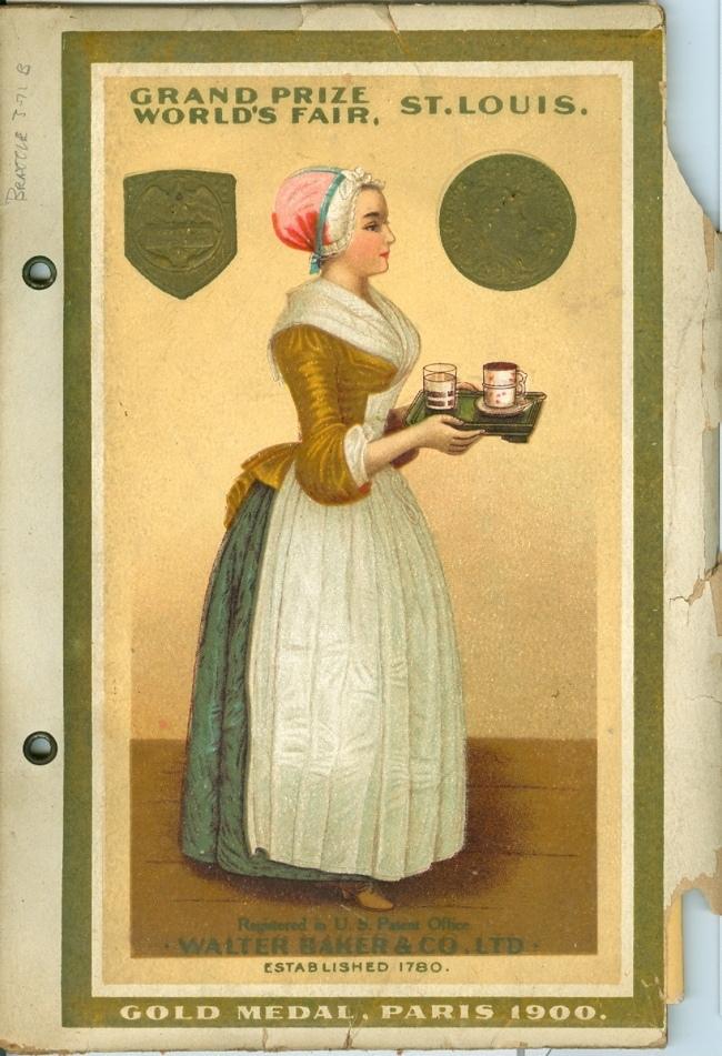 «Прекрасная шоколадница» – картина, которая стала одной из первых торговых марок Реклама, История, Интересное, Шоколад, Торговая марка, Длиннопост, Текст