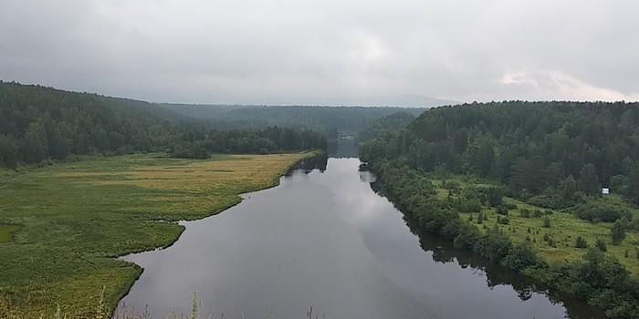 Река Серга, Урал