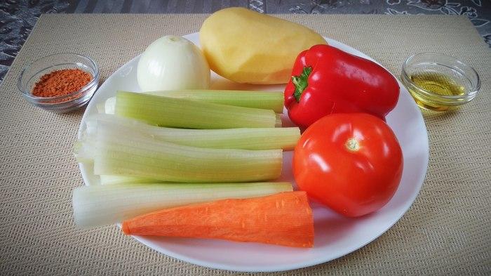 Овощное рагу с сельдереем. Полезно и вкусно! Рецепт, Жуй-Ка!, Сельдерей, Рагу, Готовим дома, Длиннопост