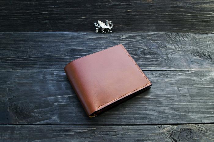 Кожаный кошелёк. Кошелек, Кожа, Своими руками, Рукоделие без процесса, Ручная работа