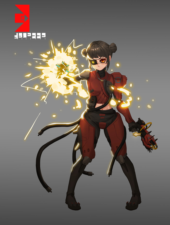Captain Vor Warframe, Captain Vor, Игры, Арт, Anime Art