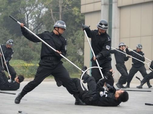 Держа дистанцию Сасумата, Оружие, Нелетальное оружие, Холодное оружие, Полиция, Япония, Ухват
