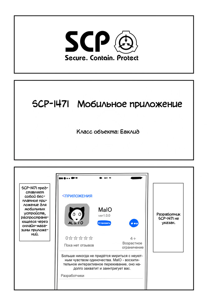 Oversimplified SCP: SCP-1471 SCP, SCP Art, Комиксы, Веб-Комикс, Oversimplified SCP, a-Typecorp, Длиннопост, Перевод