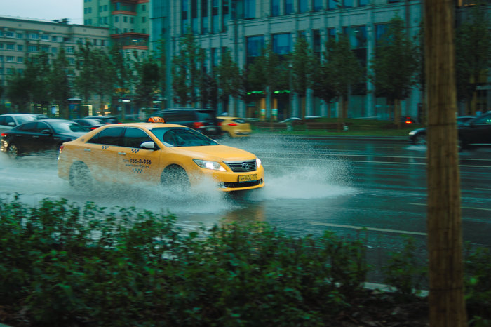 Москва, дождик Фотография, Москва, Улица, Дождь, Длиннопост