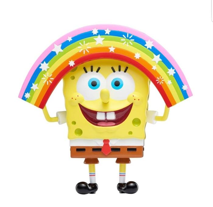 Из мемов с героями «Губки Боба» Nickelodeon сделал фигурки. Спанч Боб, Nickelodeon, Игрушки, Мемы, Длиннопост