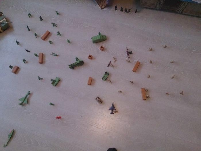 Осада крепости Дети, Длиннопост, Игры, Солдатики, Детство, Игрушки, Ностальгия