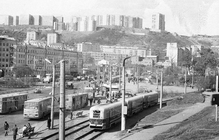 Владивосток. Начало 1980-х годов.