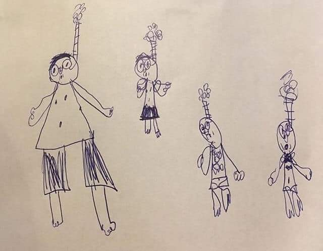 Рисунок 6-летнего брата. Дети, Брат, Рисунок, Ох уж эти детки, Талант, Родители, Картинки