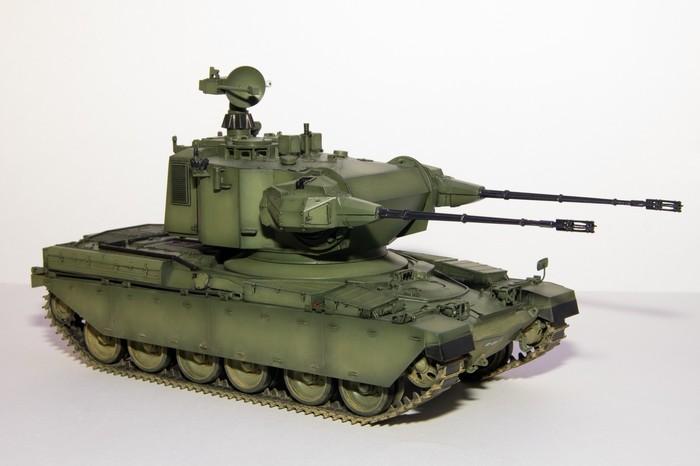 Пластиковая модель ЗСУ Chieftain Marksman, от фирмы Takom 1/35 Сборная модель, Масштабная модель, Зсу, Marksman, Chieftain, Takom, Spaag, Пластиковая модель, Длиннопост