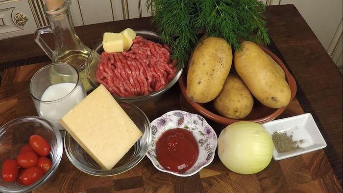 Мясная запеканка с картофелем С дедом за обедом, Рецепт, Кулинария, Запеканка, Видео, Длиннопост