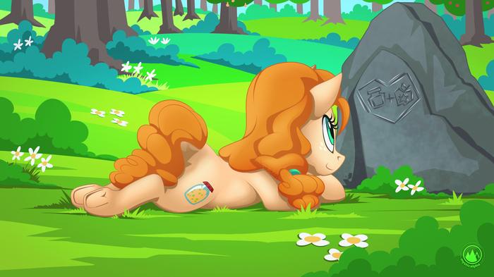 Pear Butter My Little Pony, Ponyart, Pear Butter, Mysticalpha