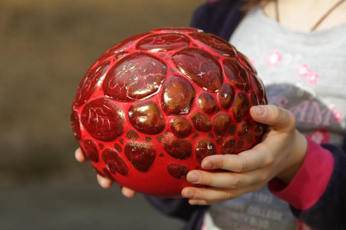 Драконье яйцо Яйца дракона, Керамика осинина