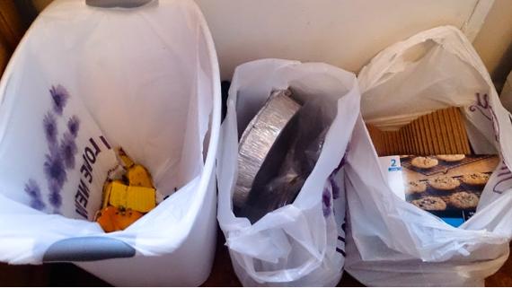 Переработка мусора в америке