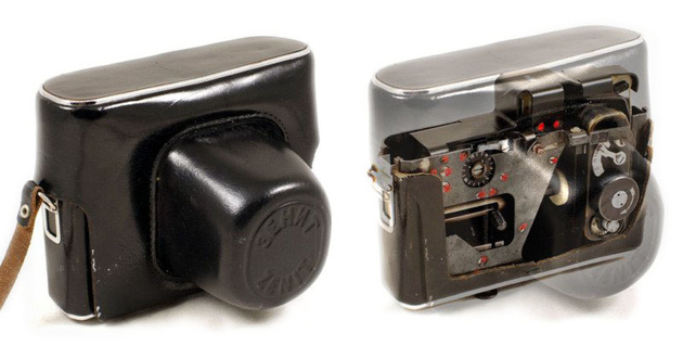 Шпионская скрытая видеокамера с флеш
