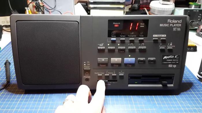 Ничего особенного, просто дискетофон из 90-х. Ретротехника, Бумбокс, Дискета