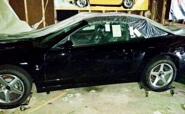 Найден абсолютно новый Ford Mustang SVT 2003 года, в заводской упаковке, с пробегом 8 километров!!! Форд, Находка, Гараж, Авто, Длиннопост