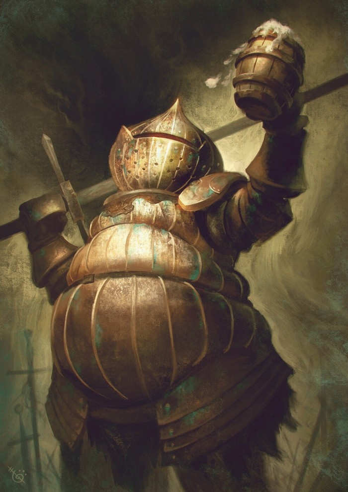 Siegward of Catarina Dark Souls, Siegward of Catarina, Арт, Компьютерные игры