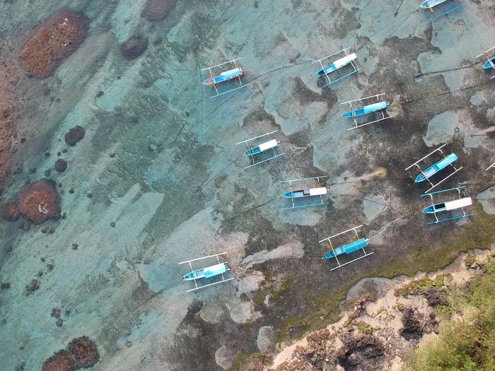 Бали: остров четырех стихий Бали, Индонезия, DJI Spark, Длиннопост, Горы, Океан, Видео