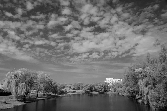 Виды на Везелку в инфра-красном диапазоне Фотография, Длиннопост, Инфракрасная съёмка, Nikon, Пейзаж
