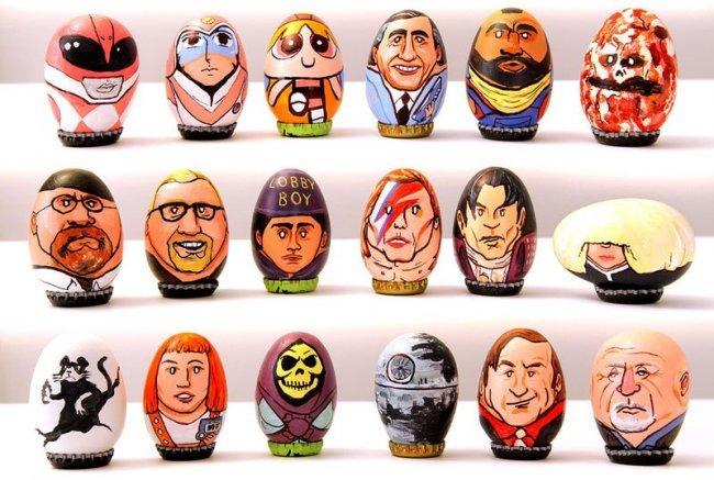 Пасхальные яйца от Барак Хардли Пасхальные яйца, Необычное