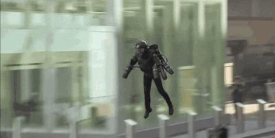 """Реактивный костюм """"Дедал"""": все-таки люди могу все, даже летать Англия, Полет, Яндекс Дзен, Железный человек, Современные технологии, Реактивный, Гифка, Длиннопост"""
