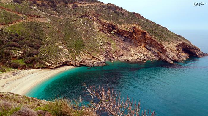 Красоты юго-западной Эвии Греция, Эвия, Остров, Природа, Видео, Длиннопост