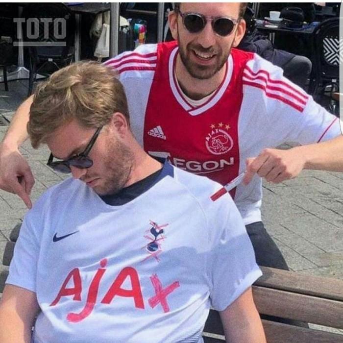 Ajax win Футбол, Тотенхэм, Аякс