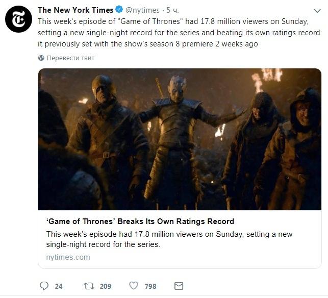 Сколько ни пинай, популярность есть популярность Игра престолов, Игра престолов 8 сезон, HBO, Рейтинг