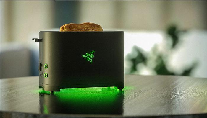 Проект Breadwinner от Razer. В каждой шутке, есть доля шутки. Проект Хлебопобедитель, Razer, Видео, Длиннопост, Тостер