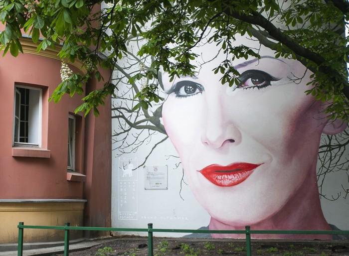 Варшава. Стрит-арт.