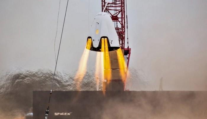 В SpaceX подтвердили потерю капсулы Dragon 2 Космос, Spacex, Dragon 2, Потеря, Капсула, Falcon 9, NASA