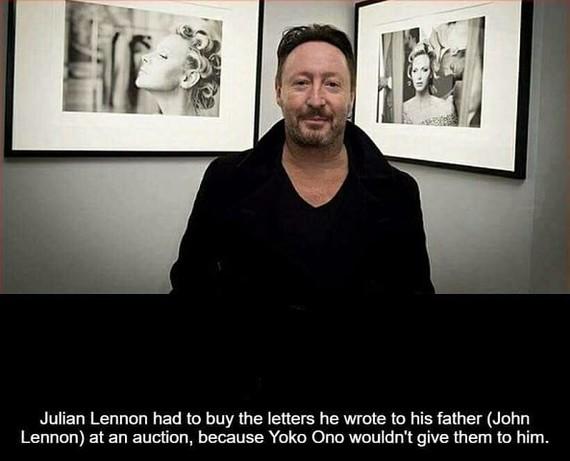 Ох, уж эта Оно... Идиотизм, Джон Леннон, Джулиан Леннон, Йоко Оно, Письмо