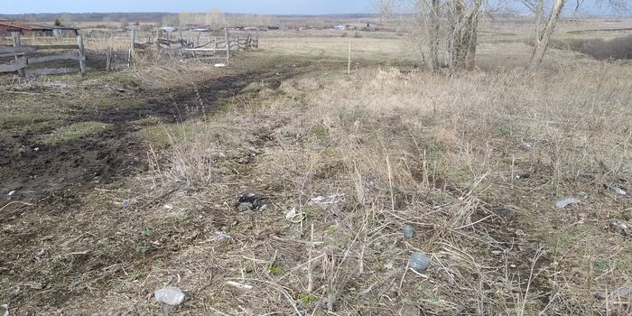 Готовим пастбище.Уборка мусора. Лига чистомена, Не мусорьте!, Село и люди, Длиннопост