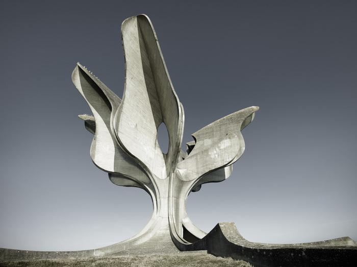 Памятник жертвам концлагеря Ясеновац, Хорватия. Лига историков, Хорватия, Югославия, Ясеновац, Каменный цветок, Длиннопост