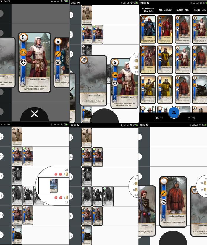 Gwent на телефон Гвинт, Ведьмак 3, Приложение на android, Ведьмак, Длиннопост