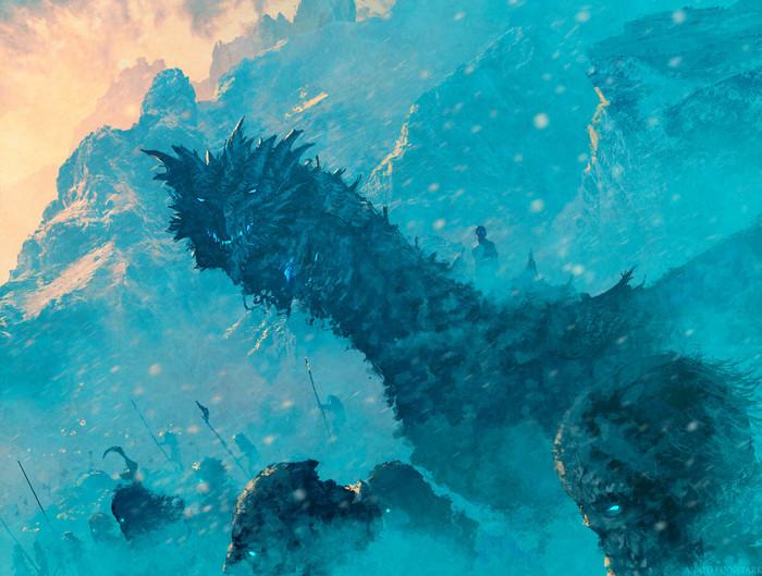 Зима стучится в дверь ПЛИО, Король ночи, Визерион, Вихты, Арт, Anato Finnstark, Игра престолов