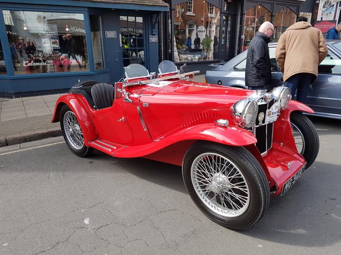 В Стратфорде проходит выставка ретро-автомобилей Машина, Ретро, Выставка, Длиннопост